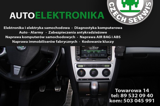 AutoELEKTRONIKA Olsztyn Towarowa 14 Czech-Serwis