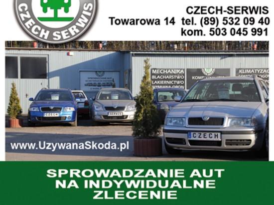 Sprowadzanie aut na zamówienie - Olsztyn