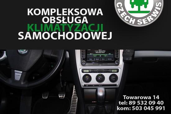 Kompleksowa obsługa i naprawa klimatyzacji samochodowej w Olsztynie