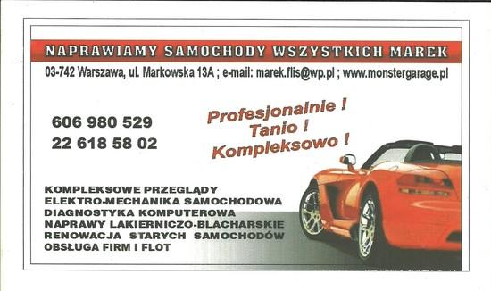 Reklama  warsztatu