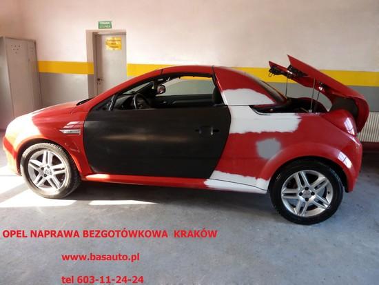 Opel  po  wypadku  naprawa   bezgotówkowa  Kraków   603-11-24-24