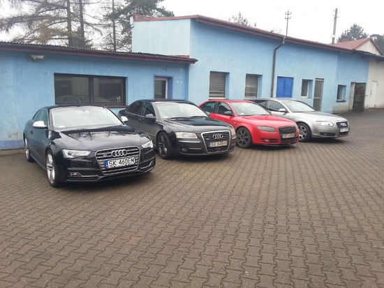 Audi S5 A8 A4 A6