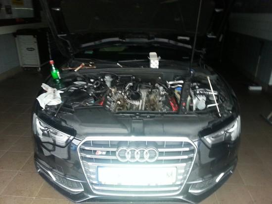 Czyszczenie kanałów Audi S5 4.2 FSI V8