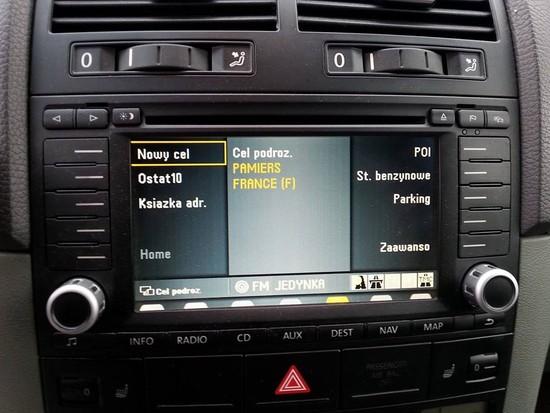 VW Touareg 3.0TDI V6 PL MENU