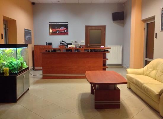 Nasze biuro - dostępne jest WIFI
