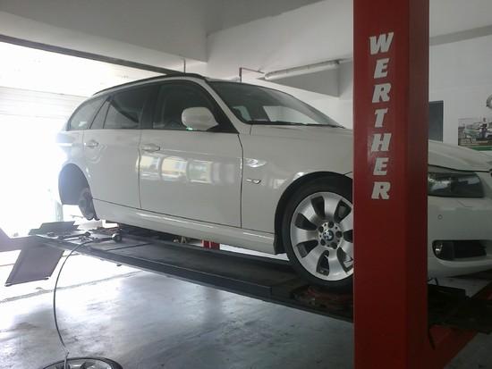 BMW w Warsztacie