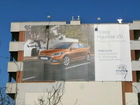 Siatka wielkoformatowa Hyundai
