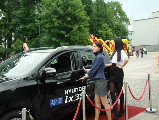 Zapraszamy do Hyundai ix35 - salon Białystok Al.Jana Pawła 85.
