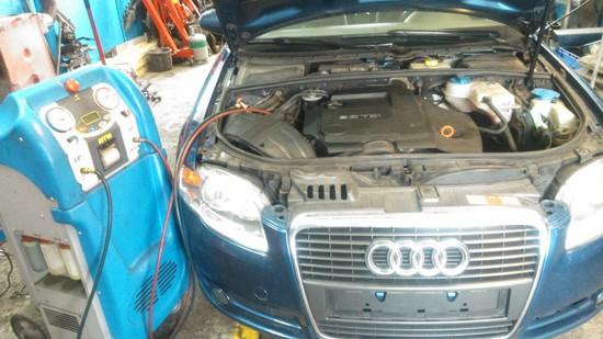 Audi A4 Serwis klimy