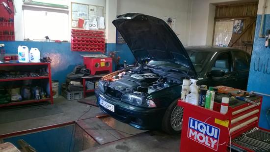 naprawa aut marki BMW