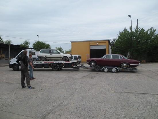 Mobilis Motors - przewóz samochodów na lawecie