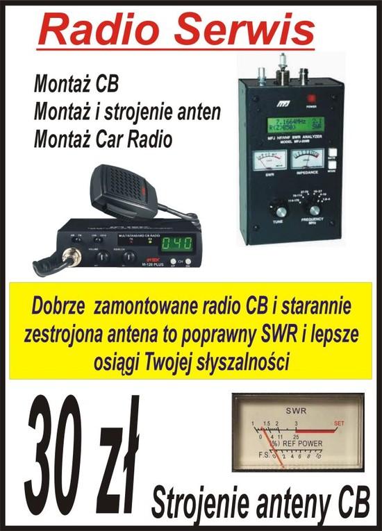Strojenie anteny CB