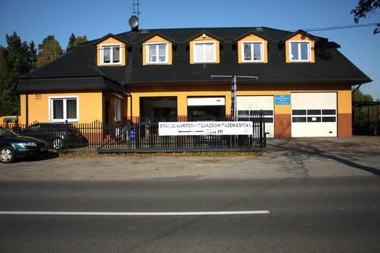 Budynek Serwisu- naprawa samochodów (osobowe i dostawcze)