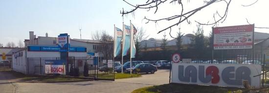 Nowa lokalizacja, na przecwko dawnego warsztatu, teren firmy Lauber.
