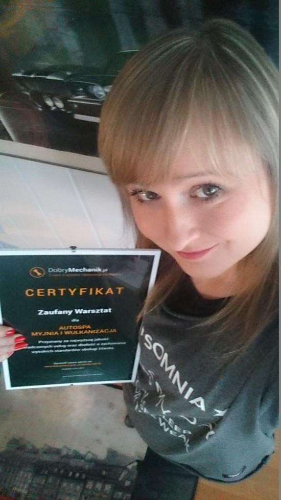 Certyfikat :)