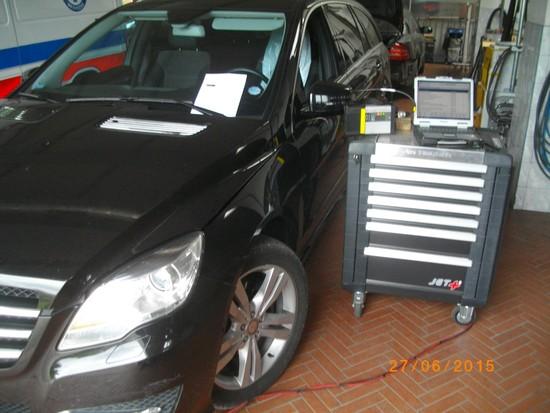 Diagnostyka Mercedes-Benz osobowe i dostawcze