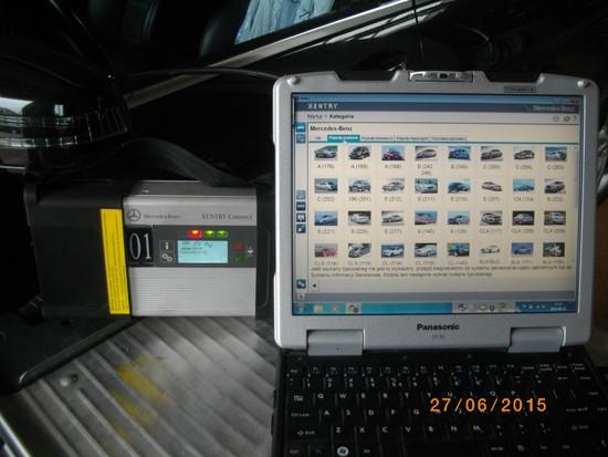 Orginalne urządzenia diagnostyczne Mercedes-Benz (Xentry)