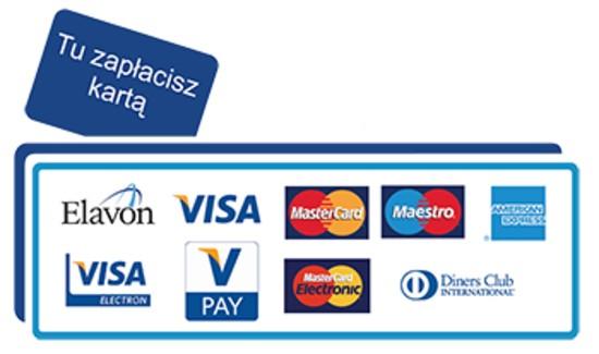 U nas można płacić kartą :)