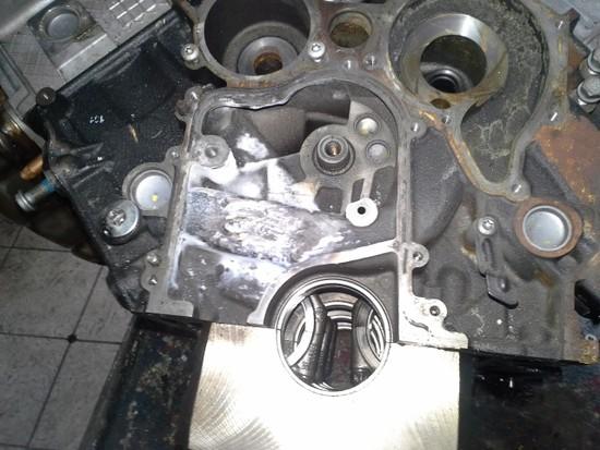 Silnik VW PHAETON po spawaniu