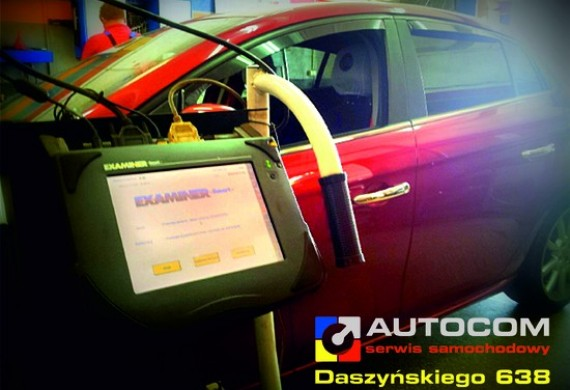 EXAMINER to komputer diagnostyczny dedykowany do samochodów FIAT, LANCIA, ALFA ROMEO.