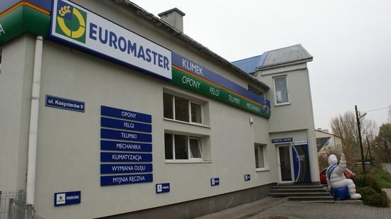 opony, myjnia, mechanika samochodowa, Euromaster KLIMEK