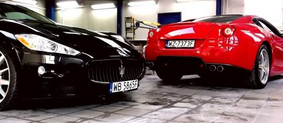 Ferrari 599 / Maserati Granturismo