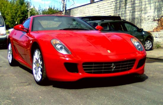 Ferrari 599 Fiorano, przód