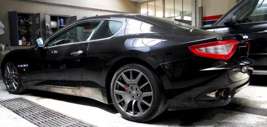 Maserati Granturismo, bok
