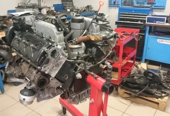 silnik przygotowany do montażu