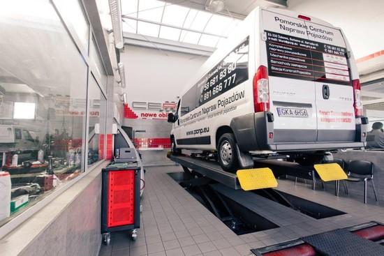 Innowacyjna stacja kontroli pojazdów CERTUS