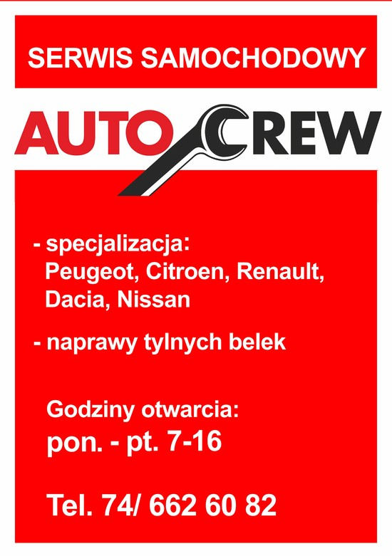 AutoCrew - nam możesz zaufać !
