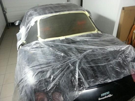 Odnawianie szyb w dachu samochodu kabrio, polerowanie reflektorów, usuwanie rys ze szkła