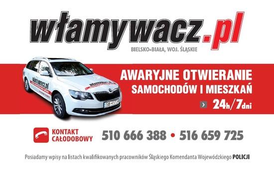 Wizytówka włamywacz Czechowice-Dziedzice