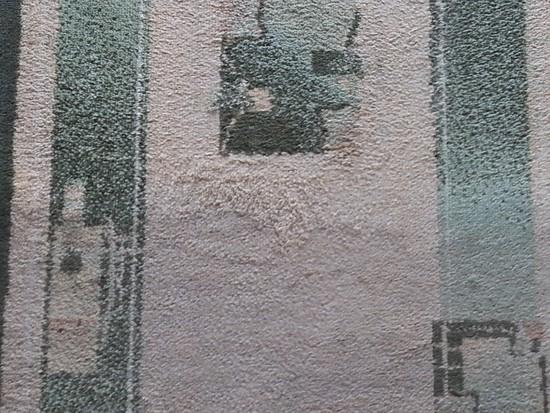 Przykładowe czyszczenie dywanu
