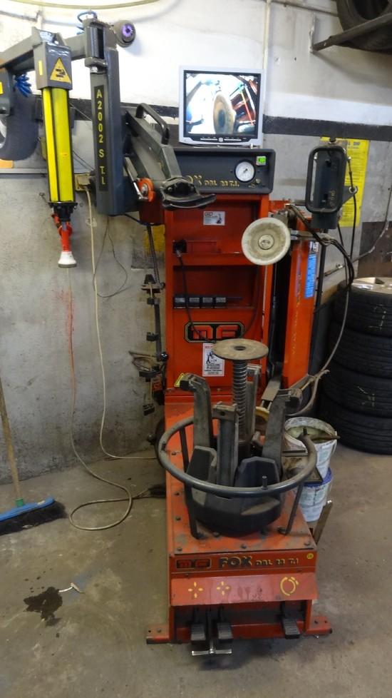 Maszyna do Run Flat i innych kół trudnych w montażu