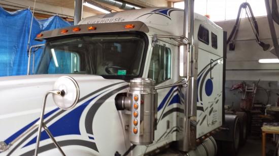 Ciężarówka kenworth