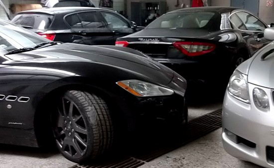 Maserati Granturismo, maska