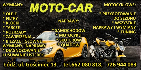 MOTO-CAR ................