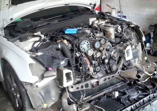 Wymiana rozrządu w Audi
