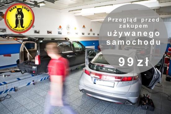 Przegląd samochodu przed kupnem