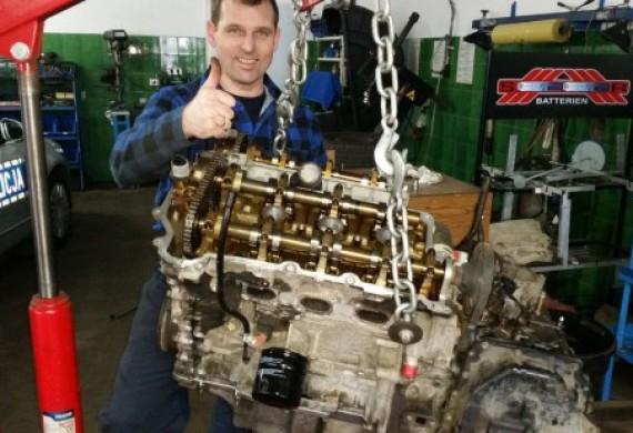 Naprawiamy również silniki V6