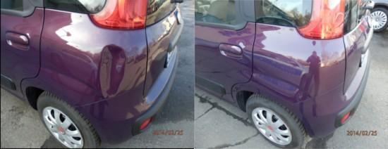 Uszkodzenie parkingowe