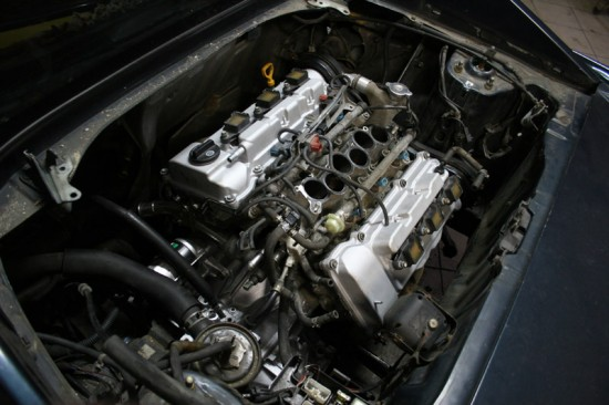 Wymiana silnika na większy