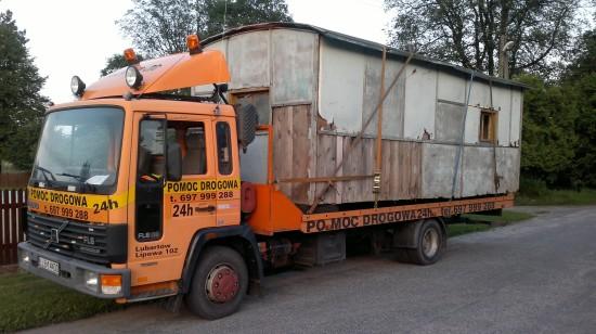 TRansportowanie ponad bgabarytowych towarów, rzeczy, pojazdów