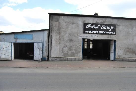 Poluś Garage - Front