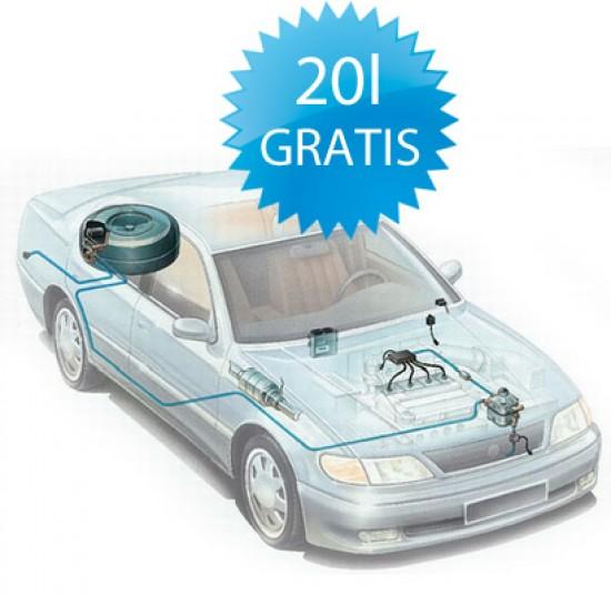 20 litrów LPG GRATIS