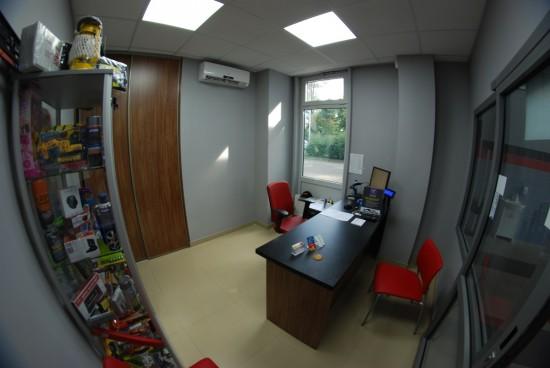 Biuro stacji Nowy Sącz