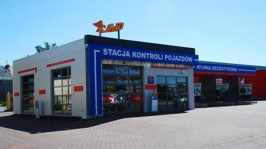 Stacja kontroli pojazdów i myjnia bezdotykowa Speed Car, Wrocław ul. Hubska