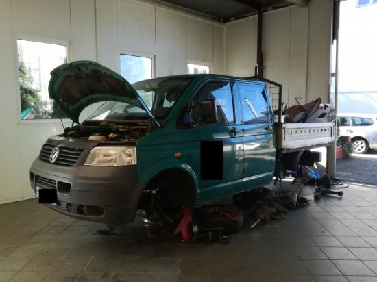 Odbudowa samochodu :)