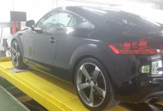 Audi TT po detailingu